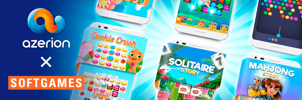 SOFTGAMES sells its Web Business to Azerion to focus on Instant Games